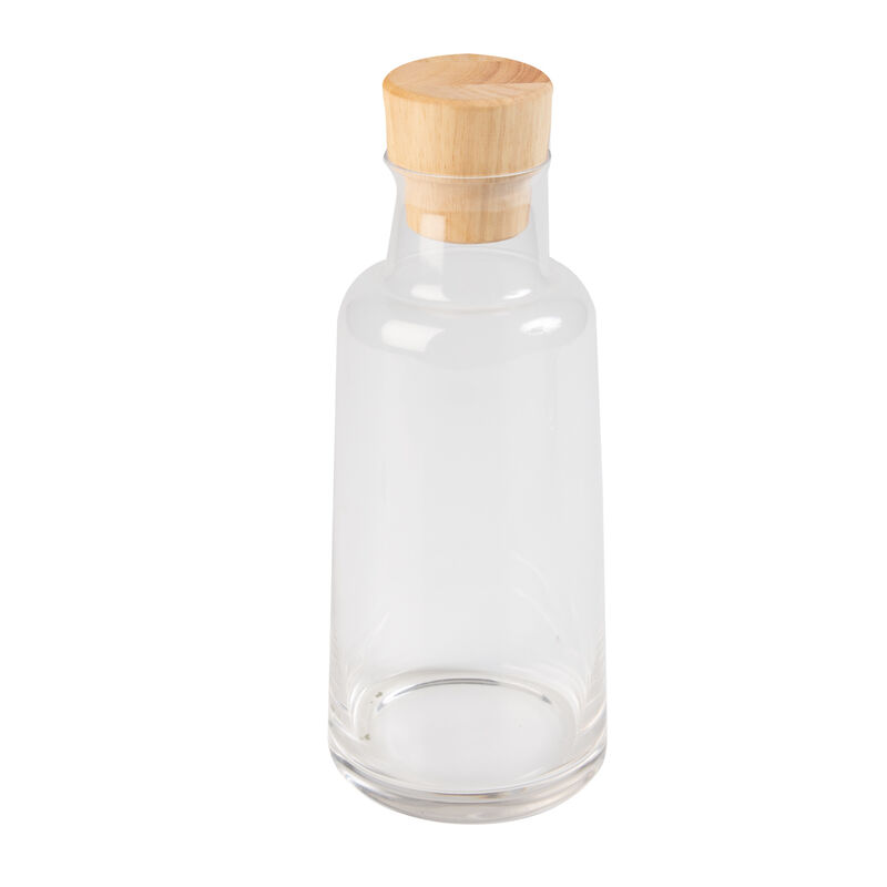 Carafe with Wooden Lid -  nocolour
