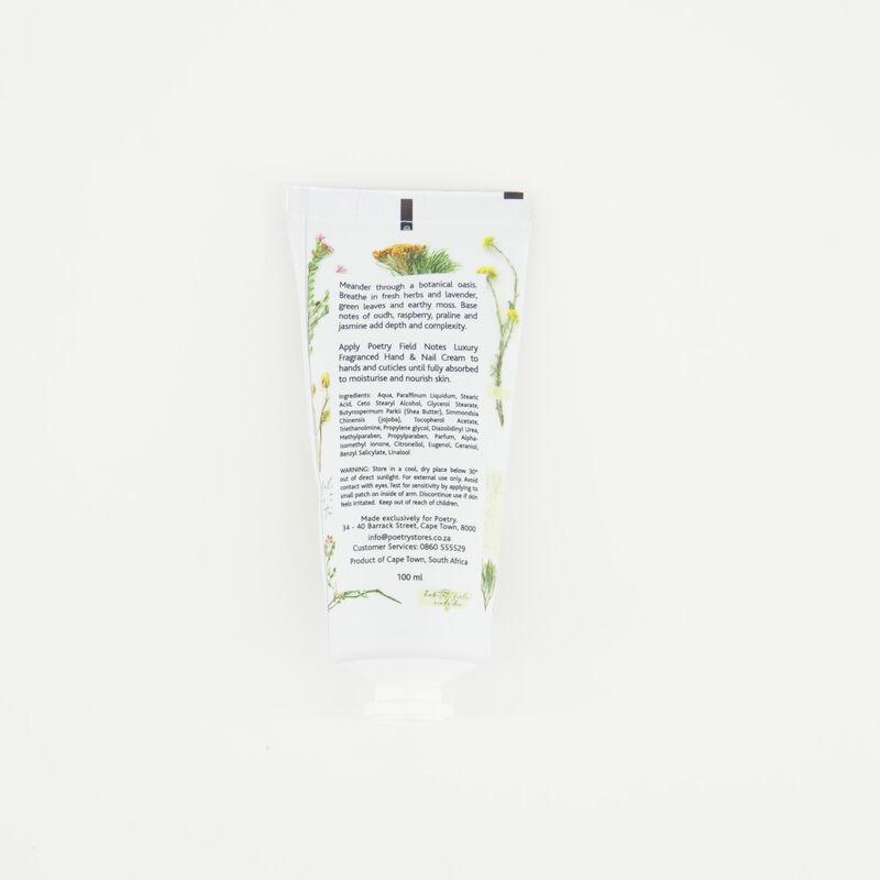 Field Notes  Hand & Nail Cream -  c09