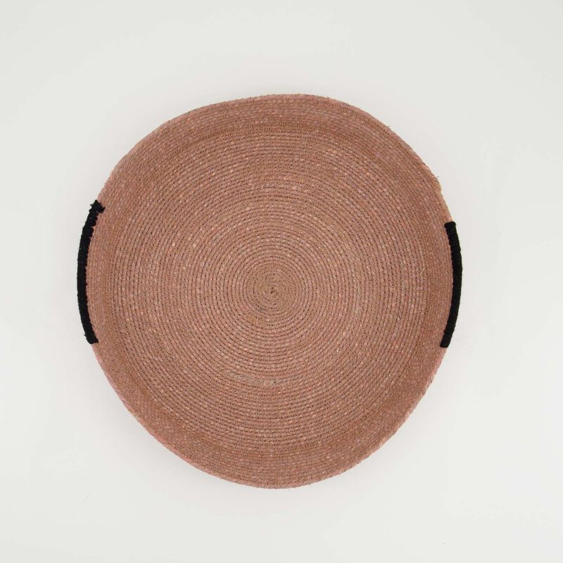 Rust & Dusty Pink Basket Tray -  rust-dustypink