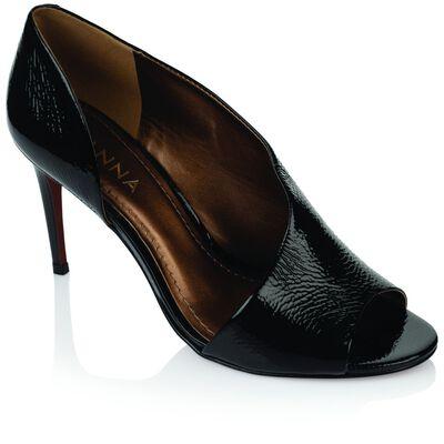 GIANNA Asymmetry Peep Toe Heel