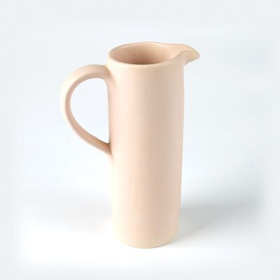 Tall Blush Jug Matte