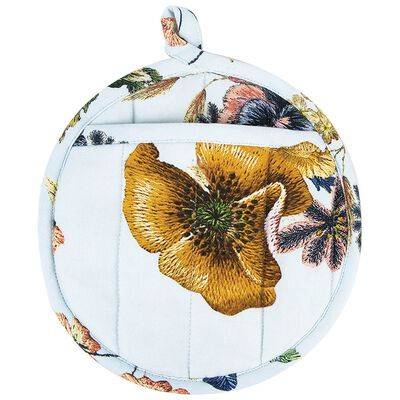 Stitch Floral Pot Holder
