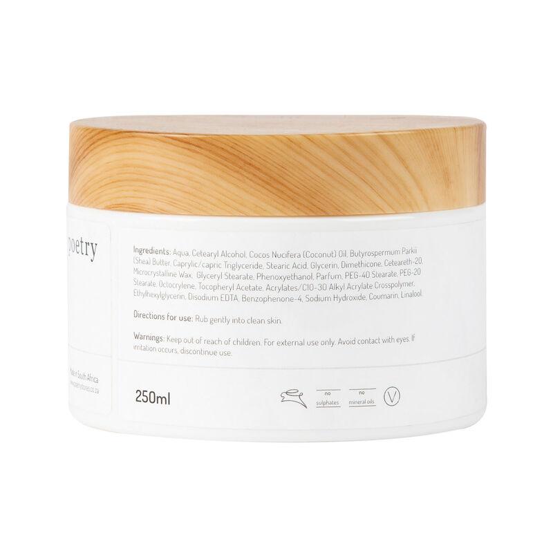 Cocoon Exfoliating Scrub -  white-brown