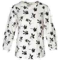 Paisley T-Shirt -  white