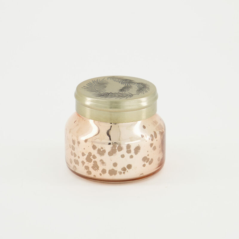 Candle in Pearlized Jar -  gold-gold