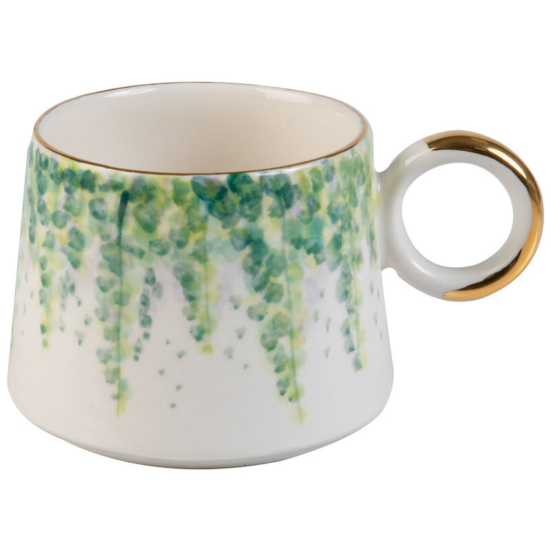 Kapula Greenhouse Mug -  green-gold