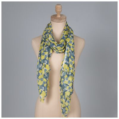 Vittoria Abstract Animal Print Scarf