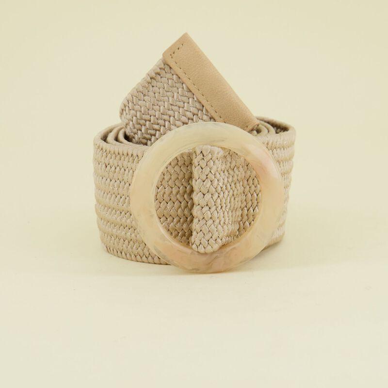 Mariah Resin Buckle Rope Belt -  dc1300