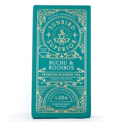 Sunbird Buchu & Rooibos Tea
