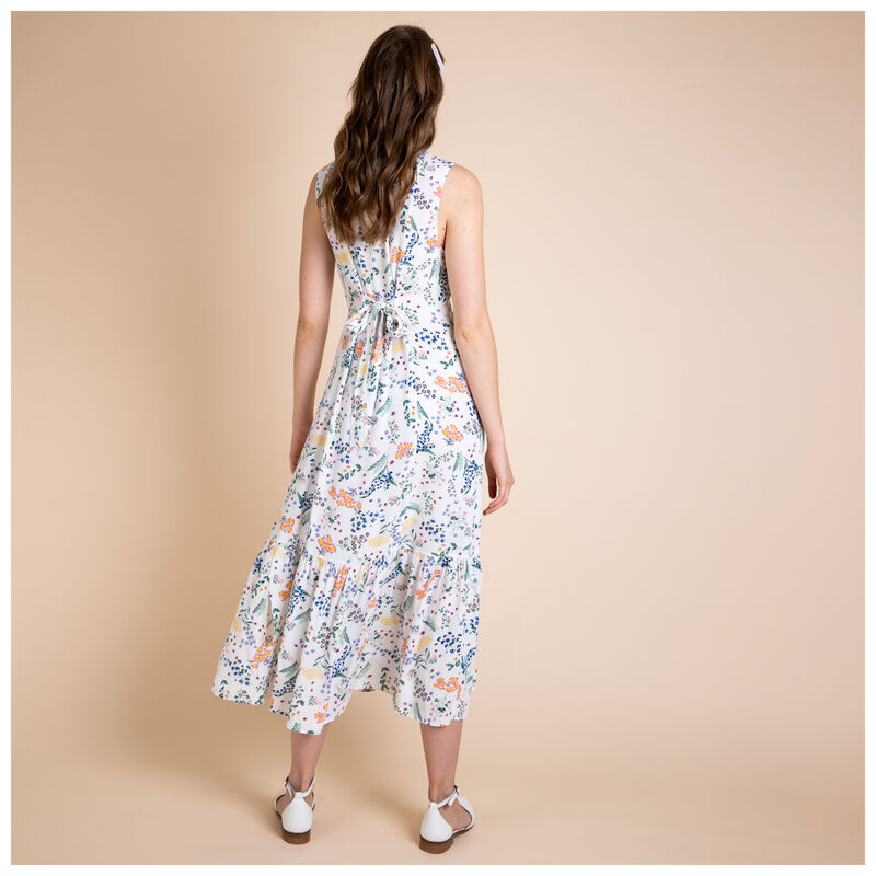 Sparrow Floral Dress -  milk