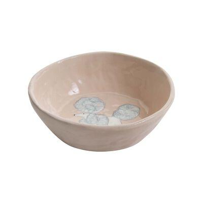 Gemma Orkin Pale Pink Poodle Dog Snack Bowl