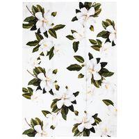White Blossom Tea Towel -  assorted