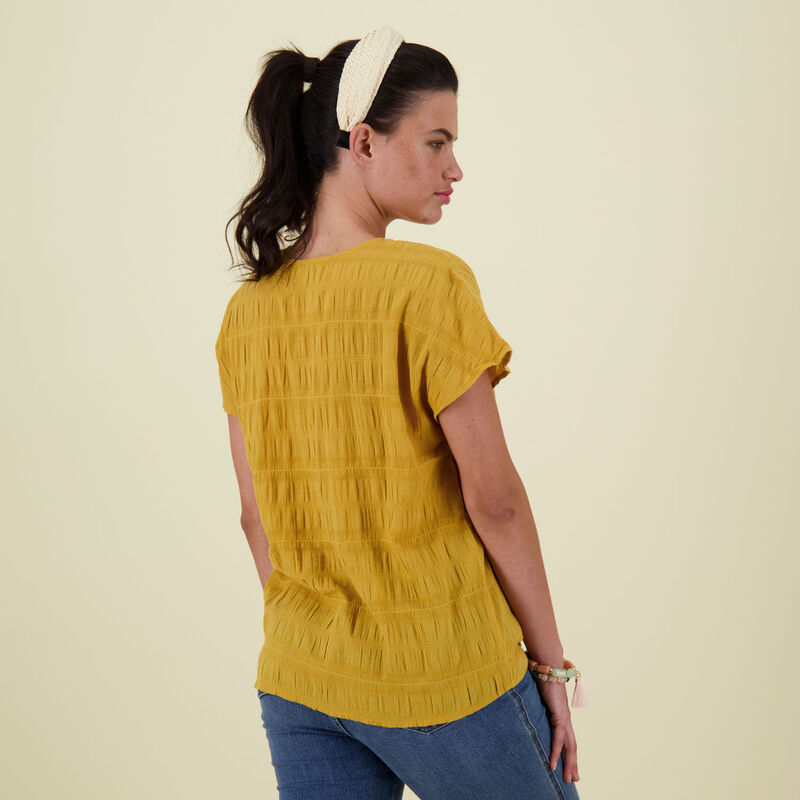 Jamie Blouse -  yellow