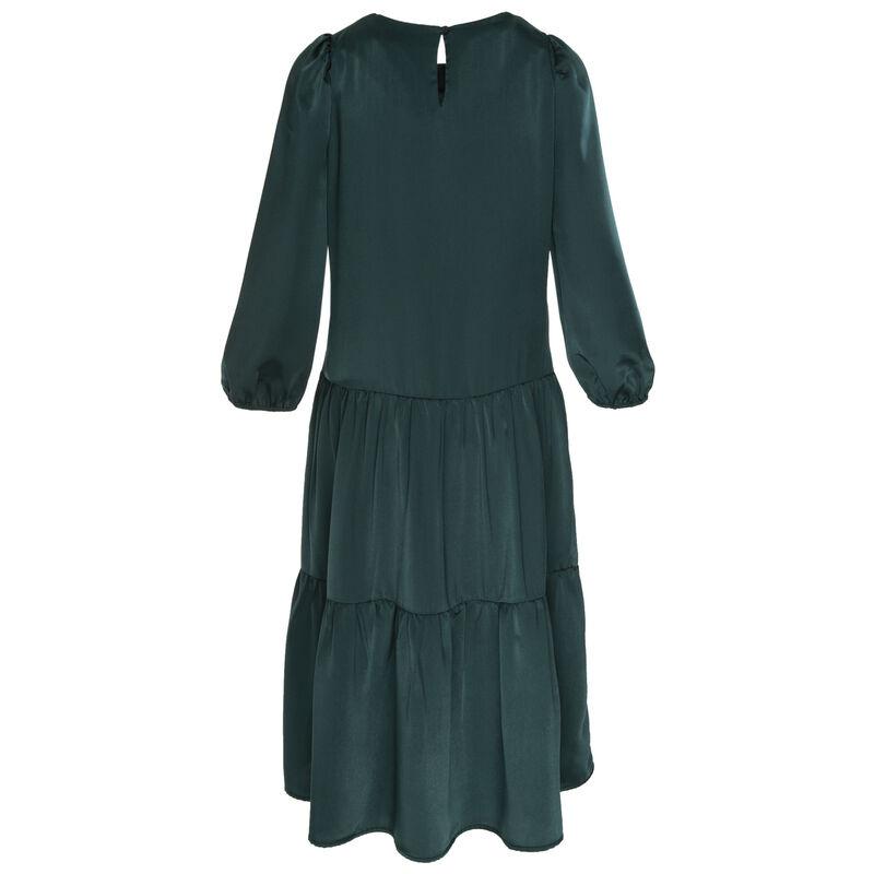 Clark Tiered Dress -  teal