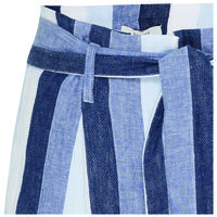 Astri Stripe Pant -  blue