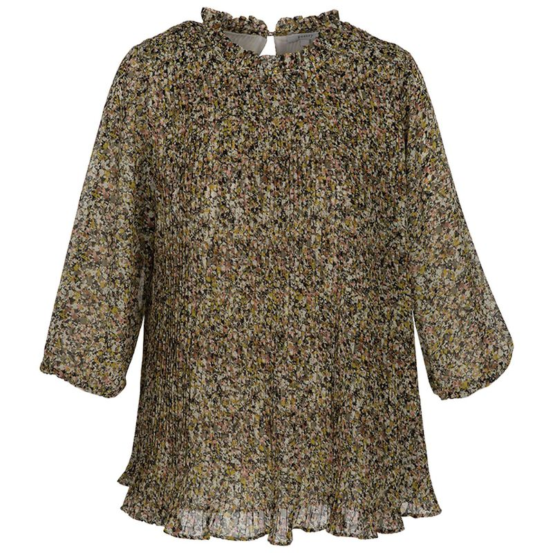 Charis Blouse -  olive