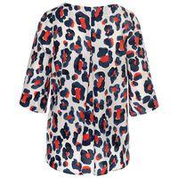 Tinsley Leopard Print Blouse -  milk