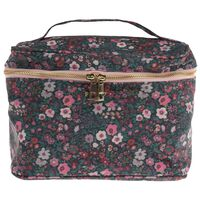 Blake Cosmetic Bag -  pink-green