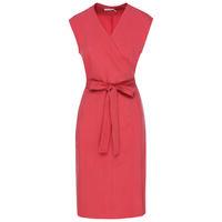 Gigi Wrap Dress -  rust