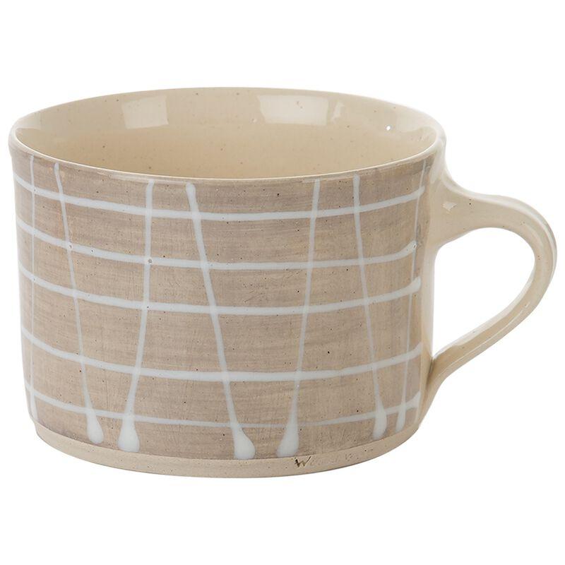 Wonki Ware Grey Squat Mug  -  grey