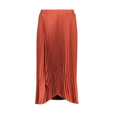 Brett Pleated Wrap Skirt