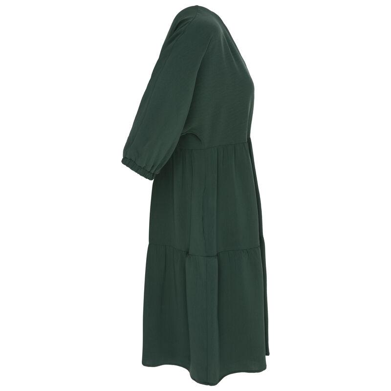 Cher Tiered Dress -  green