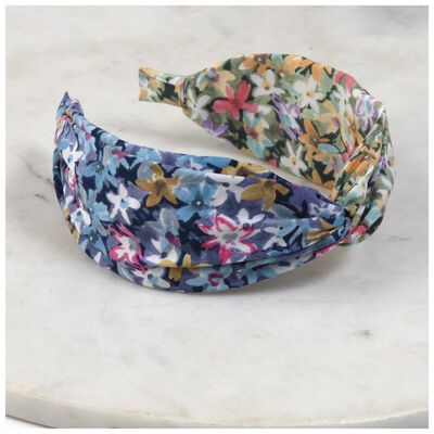 Hasna Wide Floral Alice Band