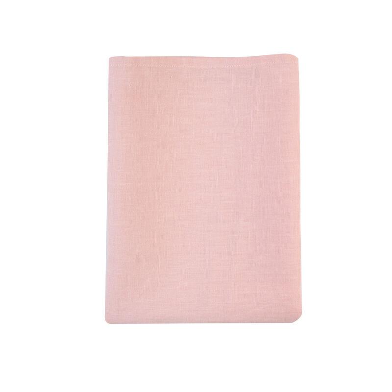 Dusty Pink Linen Tea Towel -  pink