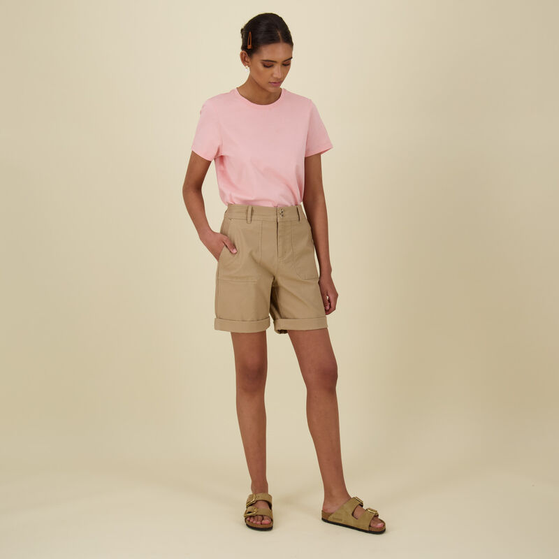 Sophia Shorts -  khaki