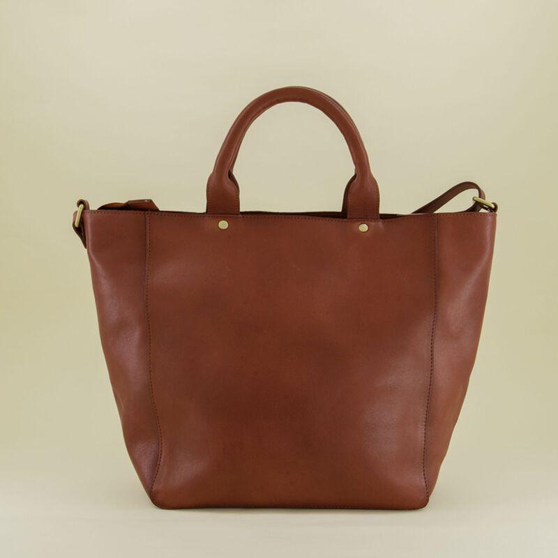 Layla Classic Leather Shopper  -  dc2200