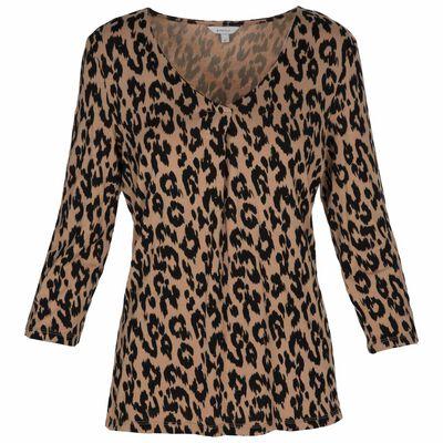 Abella Leopard Print T-Shirt