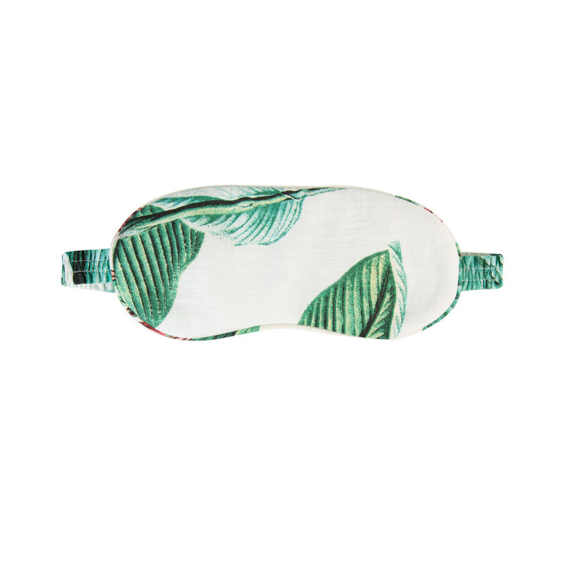 Sky Tropical Eye Mask -  pink-green