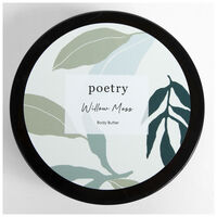 Willow Moss Body Butter -  teal-white
