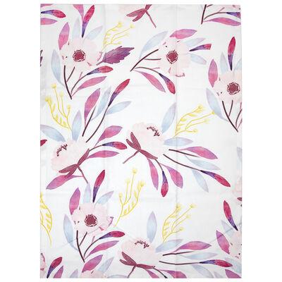 Pink Blossom Tea Towel
