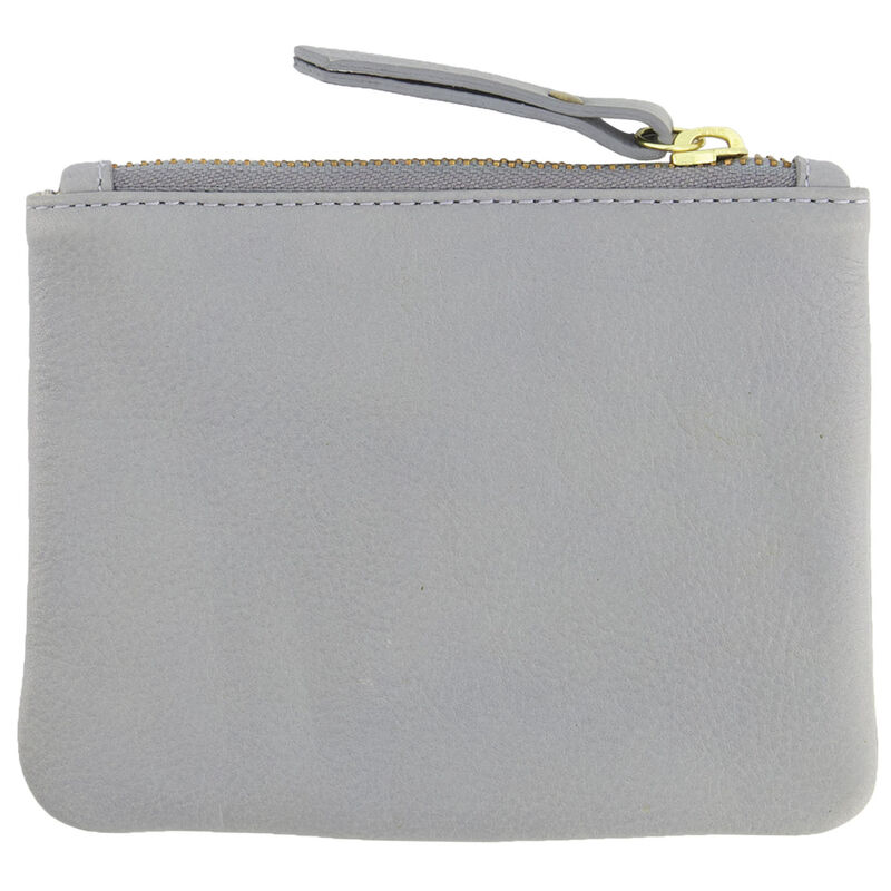 Moira Small Leather Pouch -  lightblue