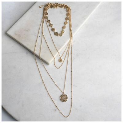 Filigree Multi-layered Necklace