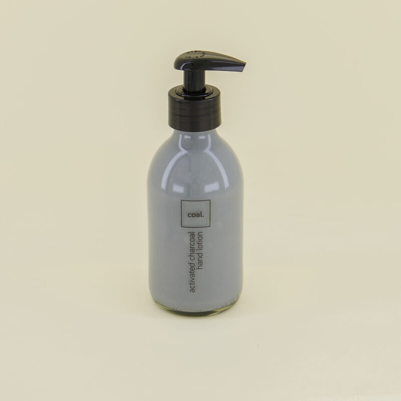 Coal Activated Charcoal Hand Lotion -  c01