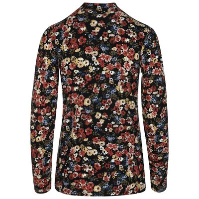 Laken Floral Polo Neck
