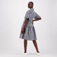 Tasha Check Dress -  c57