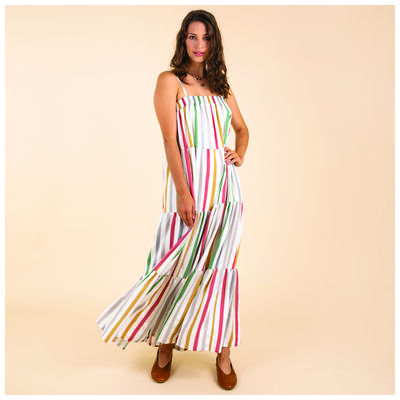 Loren Stripe Dress