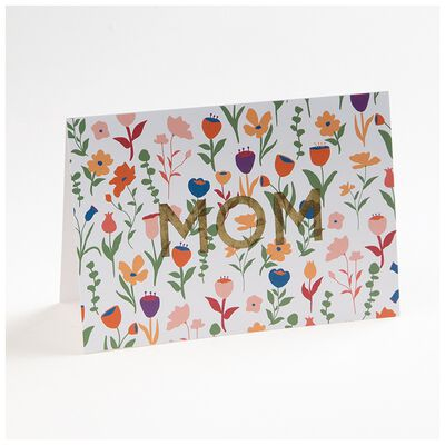 Love Letters White Floral Mom Card