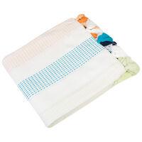 Stripe Tassel Tablecloth -  assorted