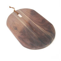 Acacia Two-Toned Lime Wash Serving Board -  driftwood-white