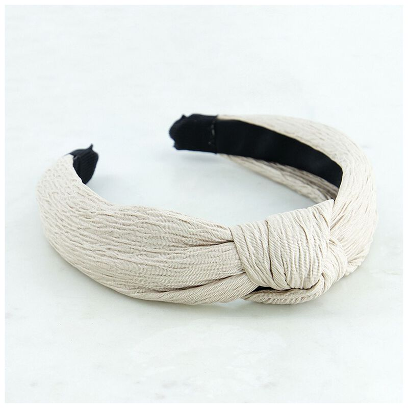 Novah Textured Knot Alice Band -  dc2300