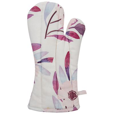 Pink Blossom Oven Glove