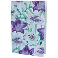 Growing Paper Hibiscus Floral Card -  assorted