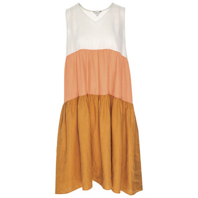 Riley Colourblock Tiered Dress