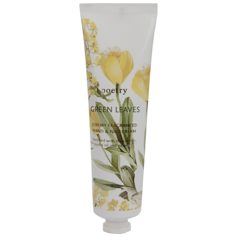 Green Leaves Hand and Nail Cream -  green-yellow
