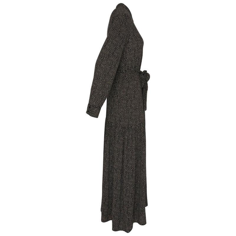 Carmela Fit & Flare Dress -  black