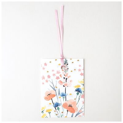 Love Floral Tag